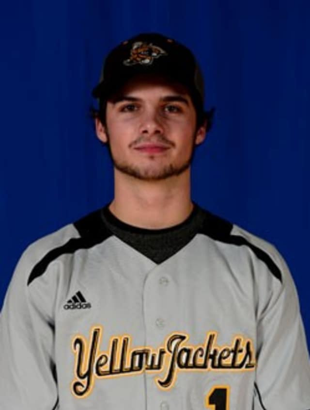 Dobbs Ferry's Eddie Ritch is playing baseball at American International College in Springfield, Mass.