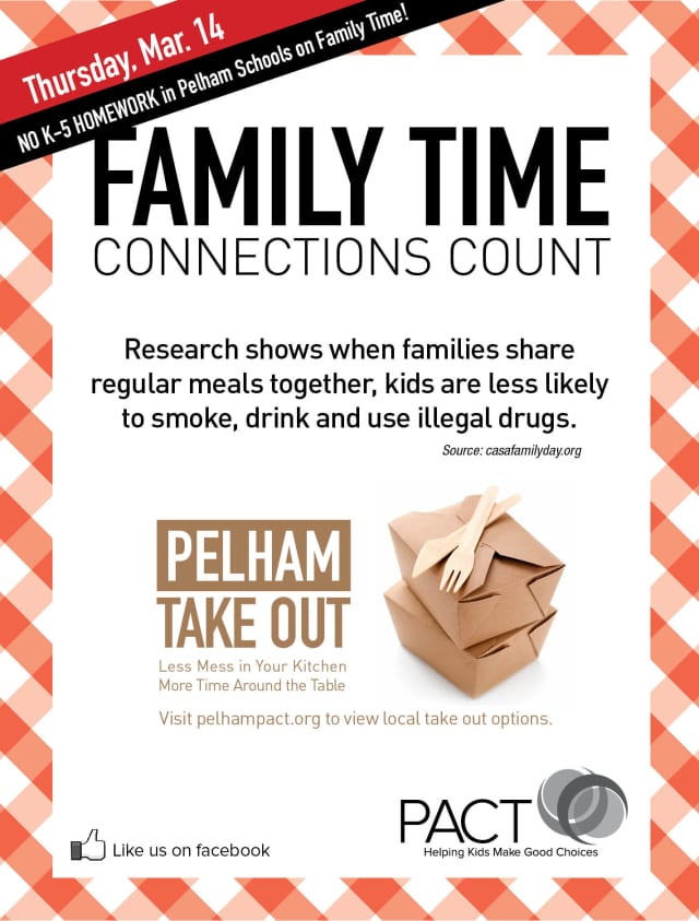 "PACT ""Family Time"" is this Thursday."