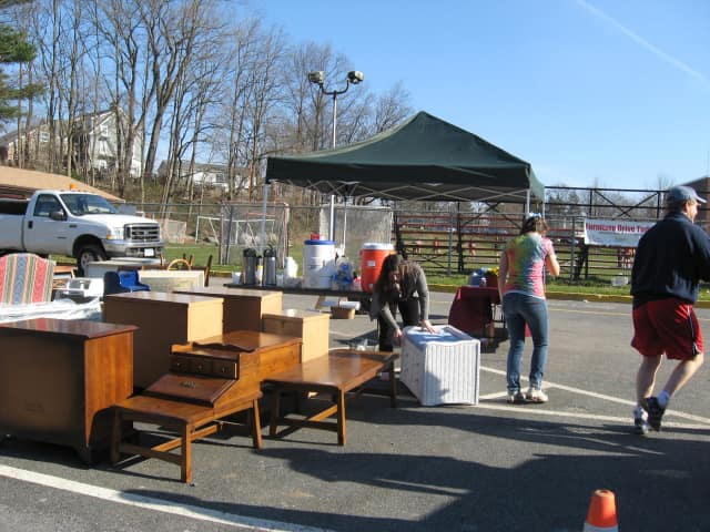 Donate furniture this Saturday to families in need at Mamaroneck High School.