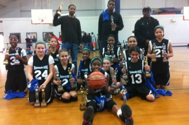 The Norwalk sixth grade girls basketball team won its division in the season-ending Fairfield County Basketball League tournament.