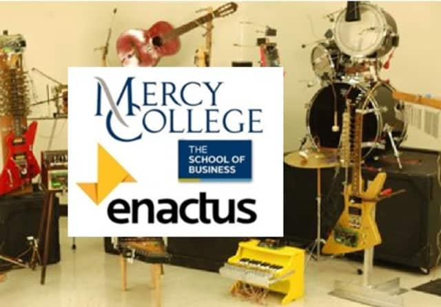 Mercy College students in Dobbs Ferry combine music innovative technology and business to help mainstream disabled musicians.