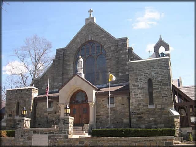 The Church of Immaculate Heart of Mary in Scarsdale.