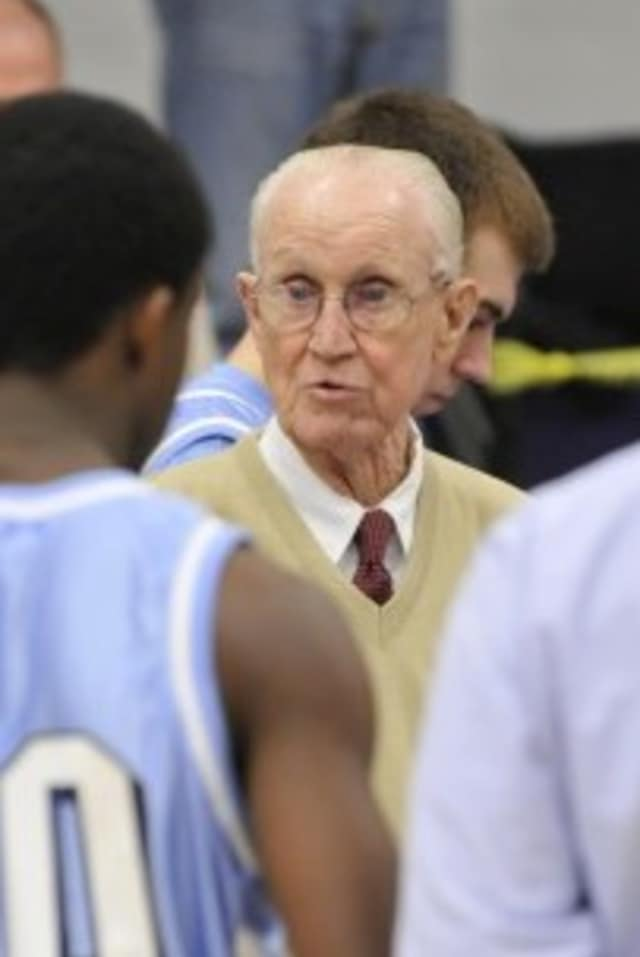 Jack Curran of Rye, a baseball and basketball coach at Archbishop Molloy High School for 55 years, died Thursday.