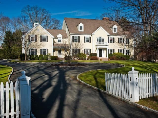 The home at 401 Wahackme Road is one of many in New Canaan that will be open this weekend.