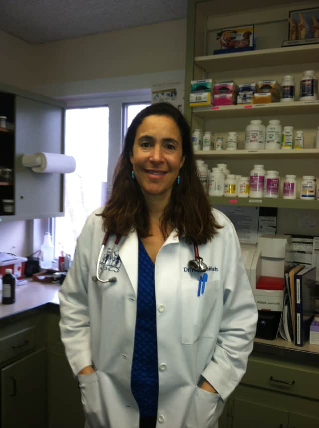Dr. Kimberly Khodakhah of Harrison is the new addition to the staff at the Miller Clark Animal Hospital in Mamaroneck.