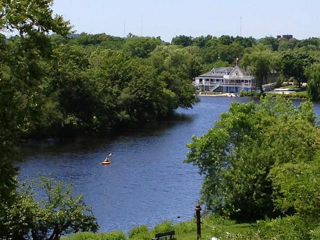 Two Chappaqua residents have entered the Charles River Watershed Association's 31st Annual Run of the Charles Canoe and Kayak Race.