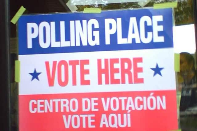 Elmsford residents vote in village elections Tuesday.
