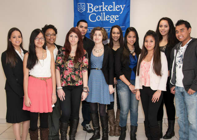 Eastchester senior Gabriella Mancini was one of a dozen students awarded scholarships.