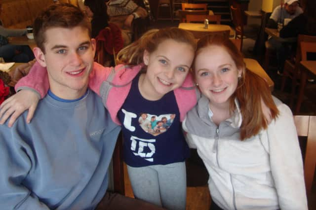 Dillon, Shane and Tatum Kelly of Rye have spent months raising money for cerebral palsy research in honor of their brother Finn, who has the disease.