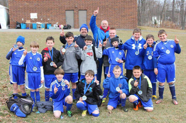 The North Salem White Tigers won the Rye Brook Kickoff Classic soccer tournament Saturday.
