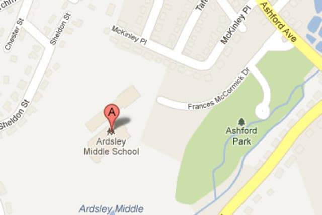 Ardsley Middle School was evacuated Wednesday afternoon.