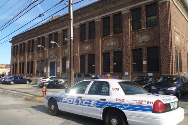 A Yonkers police officer was shot Monday night.