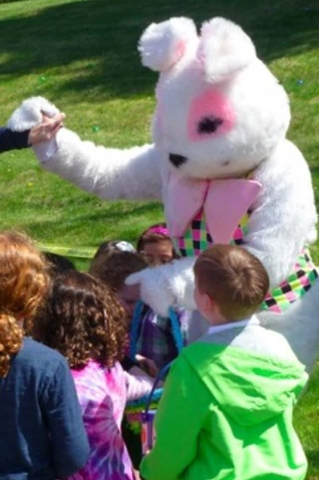 The Easter Bunny will meet kids at Patriot's Park on Saturday for the annual Tarrytown Easter Egg Hunt.