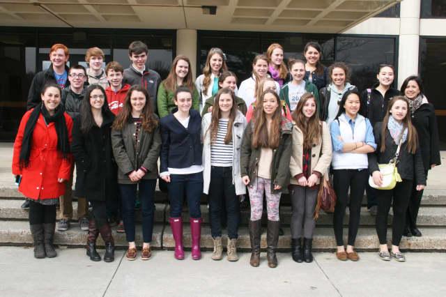 Twenty-three North Salem High School students will spend eight days in France.