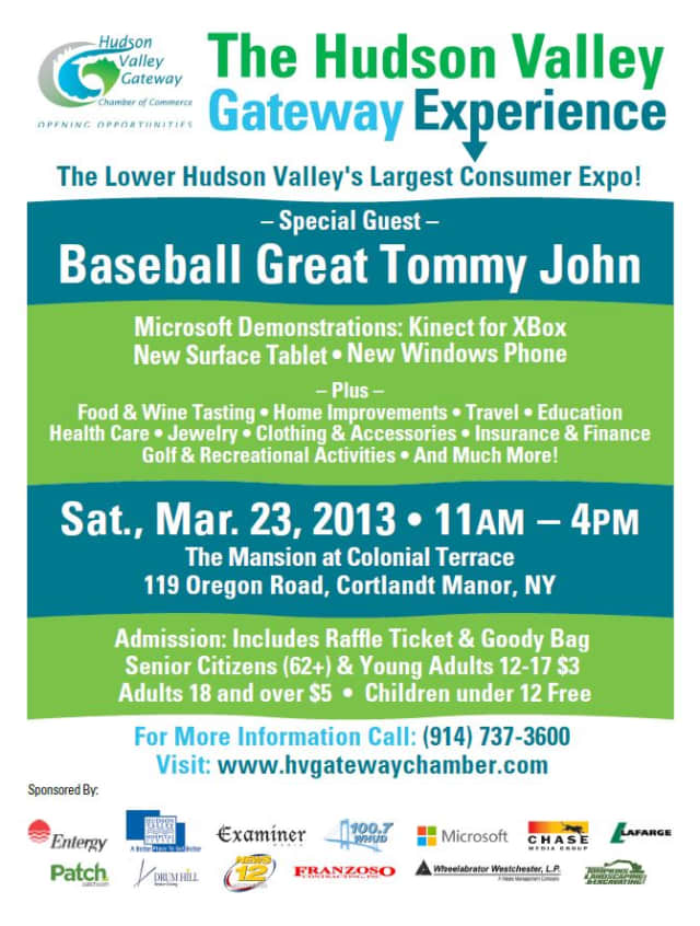 The Hudson Valley Gateway Experience returns to Cortlandt Saturday.