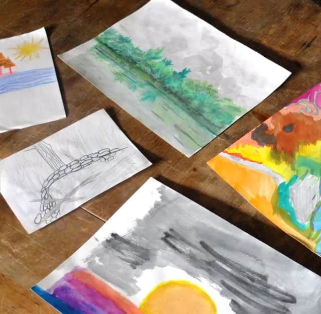 You can check out artwork created by visitors to Weir Farm, Connecticut's only National Park Service site.
