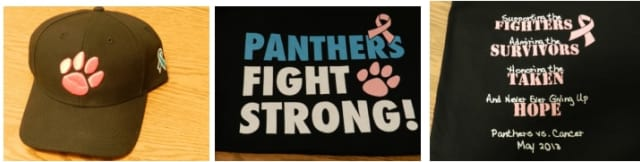 The Pleasantville School District Athletics Program is selling gear to fight cancer.