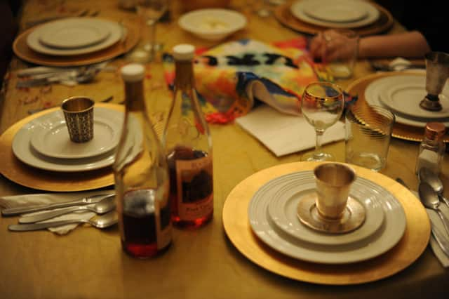 Passover begins Monday evening.