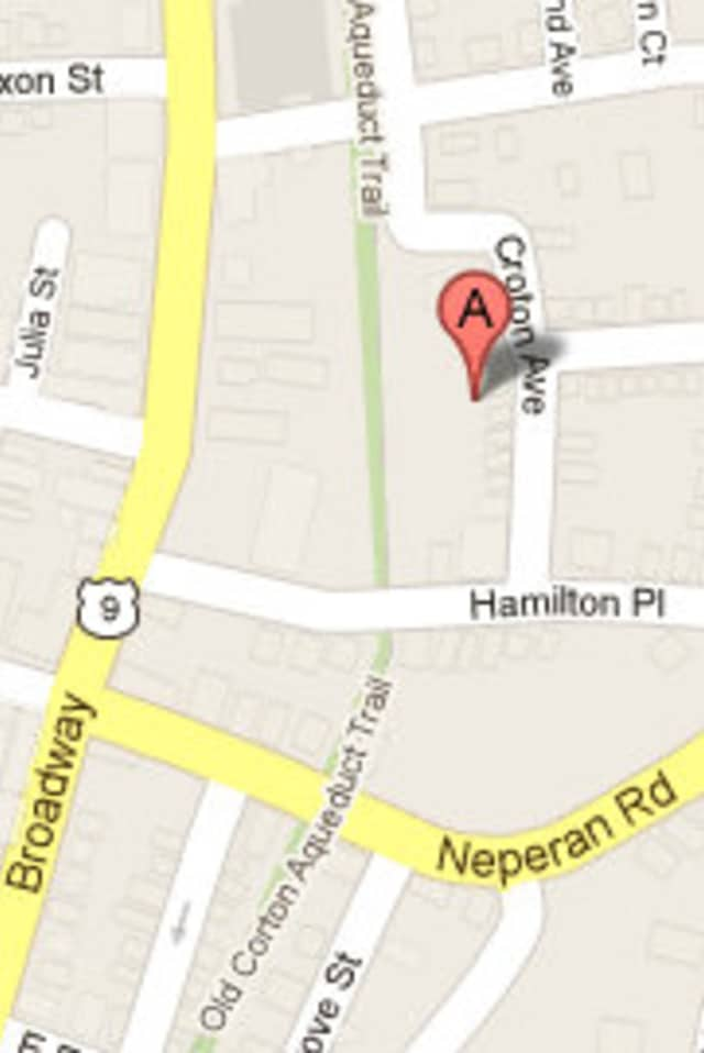 Several homes on Croton Avenue in Tarrytown were evacuated Wednesday morning because of a gas leak.