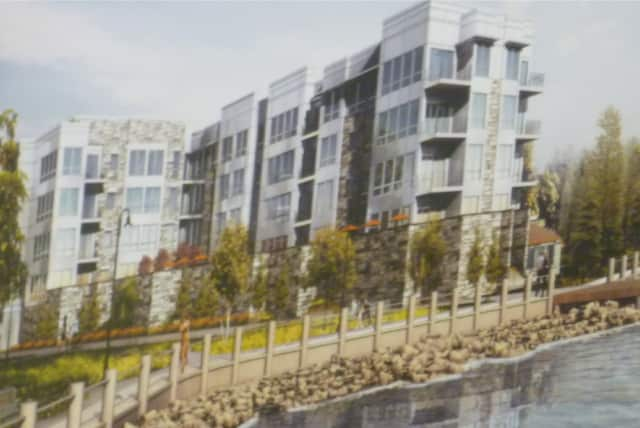 River's Edge developers want to raise the height of the project by three feet in anticipation of revised flood maps from FEMA and the New York State Department of Environmental Conservation.