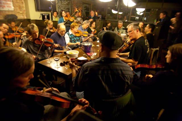 """""""Beautiful People,"""" a documentary on Irish musicians, will be shown at Croton Falls' Schoolhouse Theater."""
