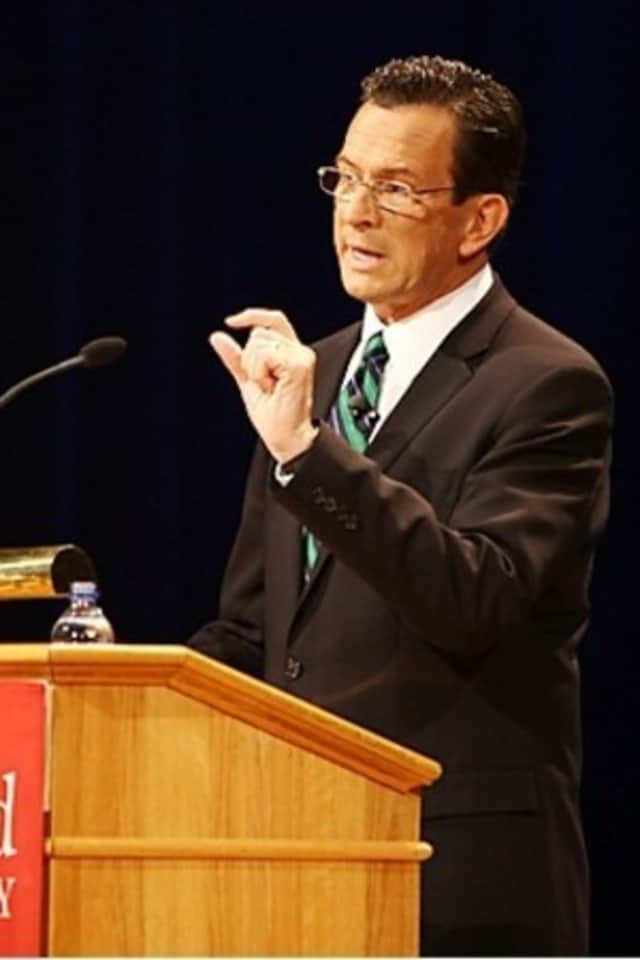 Gov. Dannel Malloy will make stops Monday in Norwalk and Westport.