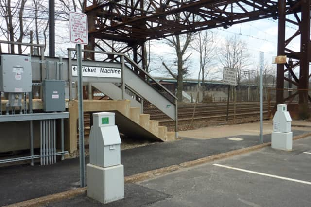 Greenburgh has approved 14 electric car charging stations/parking spaces like the ones seen here near the Metro-North train station in Westport, Connecticut.