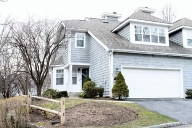 This house on Pond View Lane in Ossining is hosting an open house this weekend.