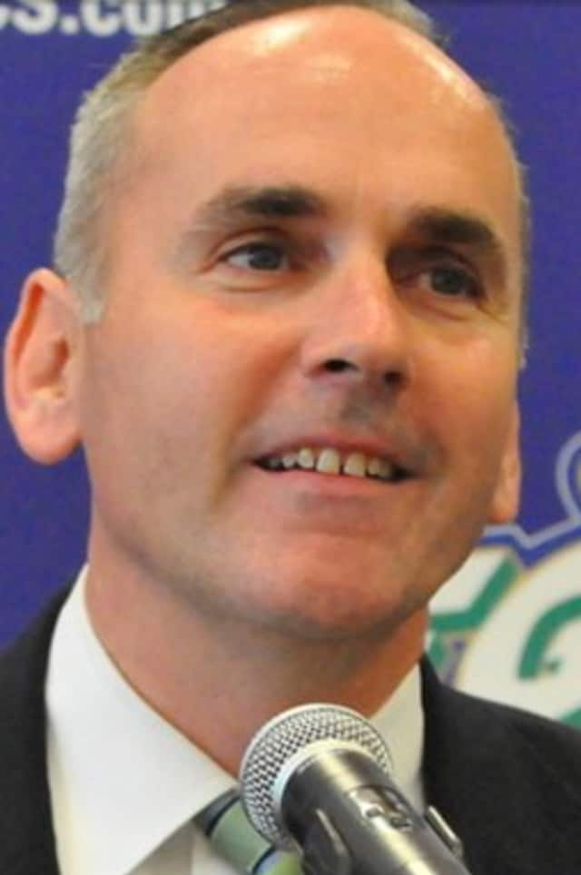 "Greenwich native and Florida Gulf Coast University athletic director Ken Kavanagh is defending his school's use of the nickname ""Dunk City."""