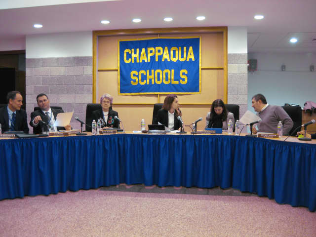 Chappaqua Central School District will hold a school board meeting Wednesday night at 8:15 p.m. in the Horace Greeley High School.