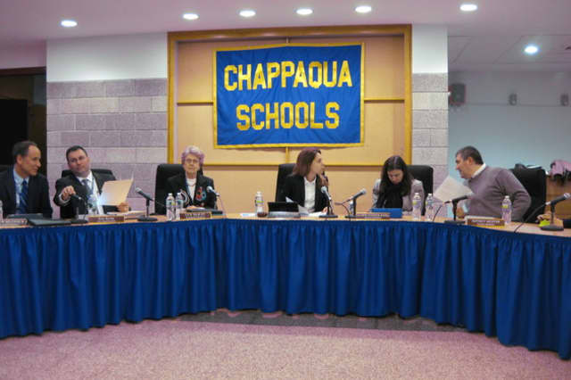 The Chappaqua school board voted to adopt the proposed 2016-17 school budget of $118,225,288 on April.