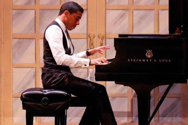 Christian Sands will perform at the fifth annual Spirit of Jazz Concert, taking place April 7 at the Irvington Town Hall Theater.