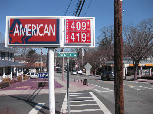 The American station on East Main Street in Mount Kisco is one of the better buys in the area, with a $4.09 per gallon price tag (cash only).