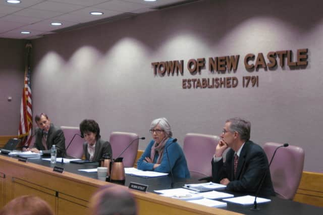 Tuesday night's New Castle Town Board meeting will begin at 8 p.m.