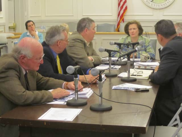 The Somers Town Board discusses forming a task force to look into Lincoln Hall during its April 4 work session.