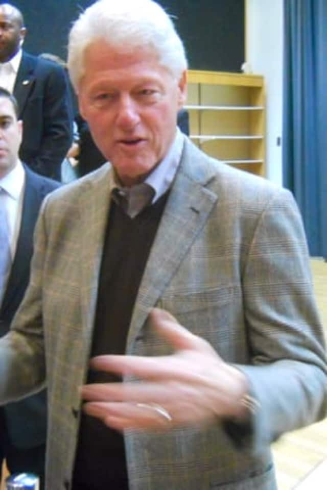 Former President Bill Clinton of Chappaqua, N.Y., is making an appearance at a Jan. 12 fundraiser for Hillary at the Bridgeport home of Oni Chukwu.