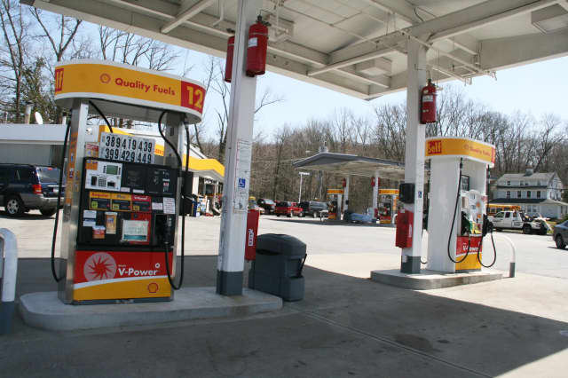 Prices have dropped at gas stations around Lewisboro, North Salem and Pound Ridge.