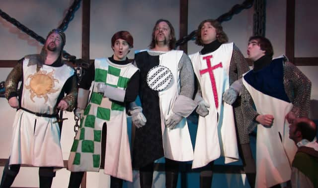 """PMT Productions' presentation of """"Spamalot"""" at the Yorktown Stage highlights the events this weekend in Yorktown and Somers."""
