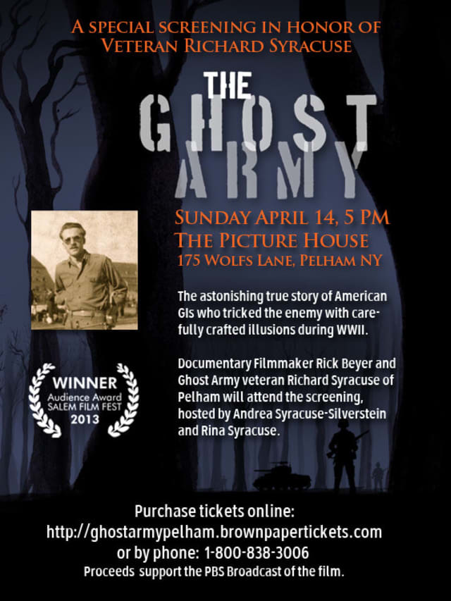 """""""The Ghost Army"""" will be screened at the Picture House in Pelham at 5 p.m. Sunday."""