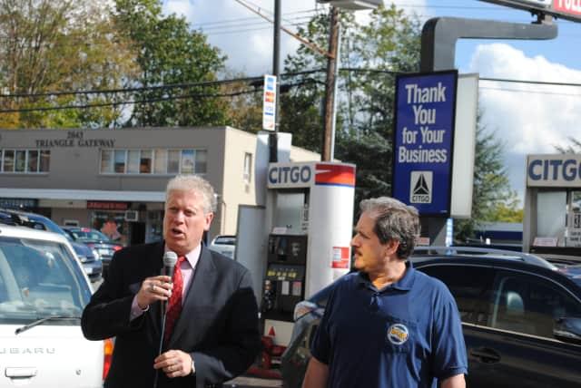 County Legislator Mike Kaplowitz and Ron Guarino