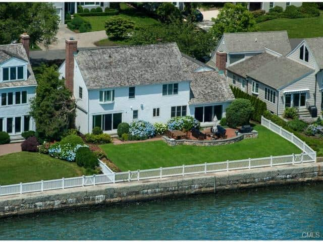 The home at 208 Dolphin Cove Quay in Stamford will be open from 1 to 3 p.m. on Sunday.