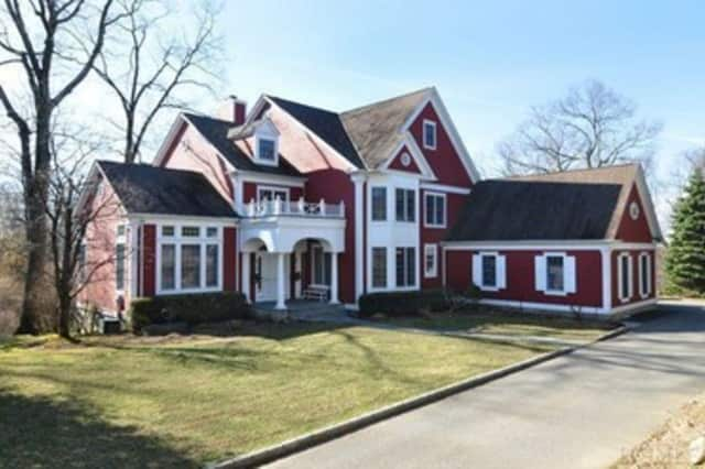 This house on Manor Pond Lane in Irvington is for sale for $1.895 million.