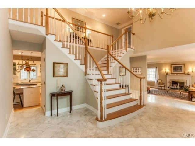 Take a tour of the home at 75 Graenest Ridge Road in Wilton this weekend during an open house.