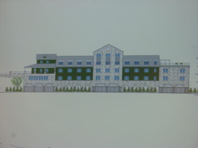 This previous plan of Chappaqua Station could to look much different Tuesday night, when Conifer presents its latest model to the New Castle Town Board.
