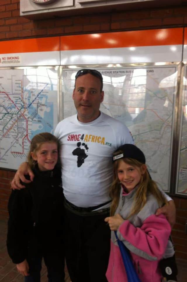 South Salem resident Pete D'Urso is safe after running today's Boston Marathon.