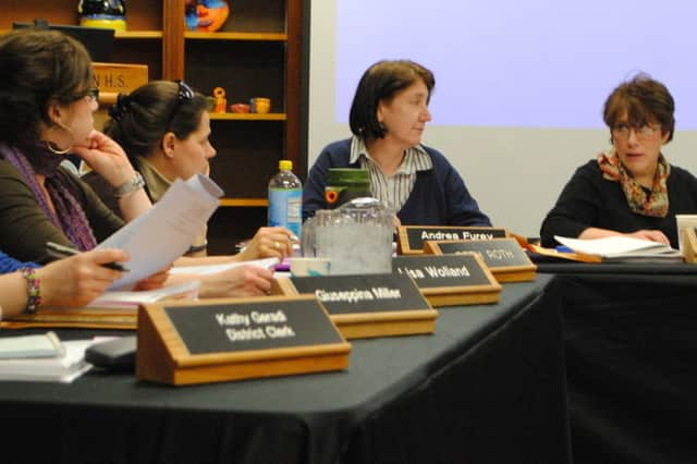 The Croton-Harmon School District Board of Education adopted its 2013-14 budget last week.