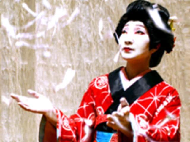 Dancer and choreographer Sachiyo Ito will do a Kabuki theater and dance demonstration Saturday at the Pelham Art Center's Cherry Blossom Festival.