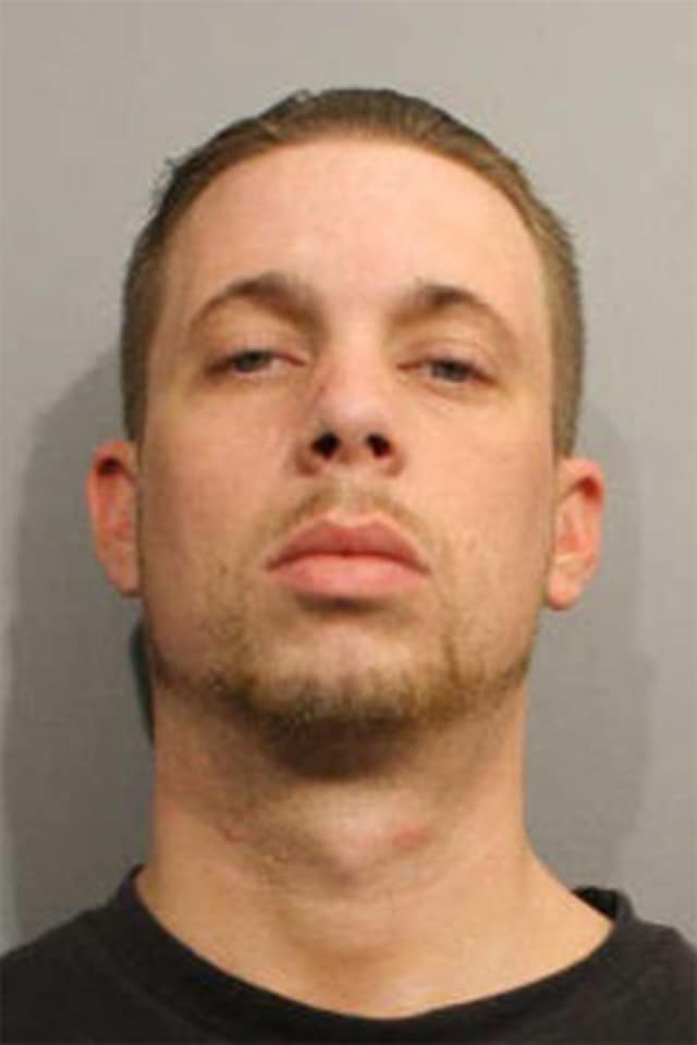 Michael Cestari of Brookfield was charged with larceny and drug possession in Wilton Monday.