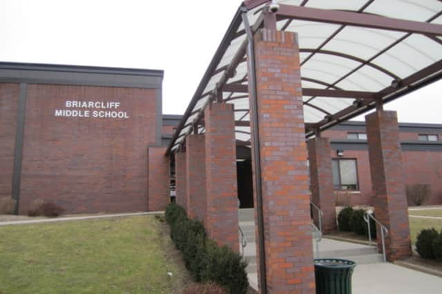 Police investigated a report of an individual spotted at Briarcliff Middle/High School.