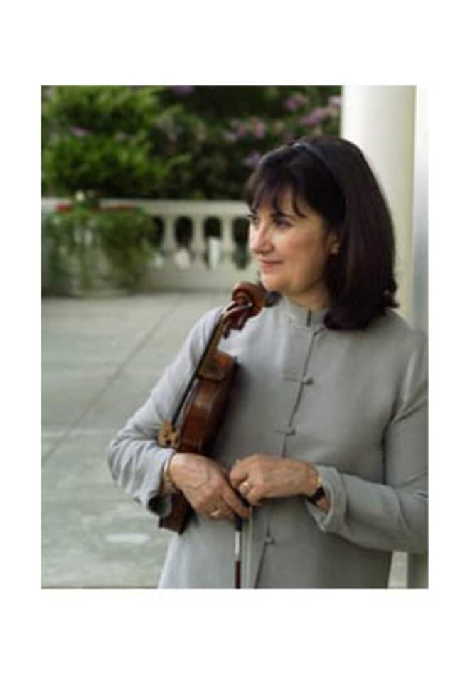 Lewsiboro resident and acclaimed violinist Ani Kavafian performs on Saturday at Le Chateau.